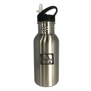 500ML. Stainless Steel Wall Water Bottle with handy drink spout and BPA free (3-5 Days) NEW!