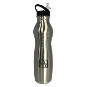 750 Ml. 25 Oz. Stainless Steel Wall Water Bottle with handy drink spout and BPA free (3-5 Days)